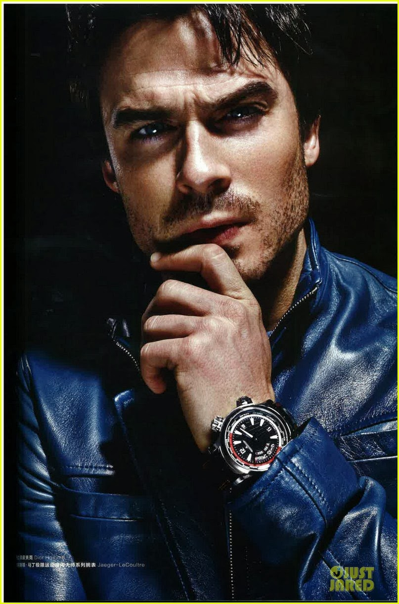Celeb Diary Ian Somerhalder On The Cover Of Esquire China