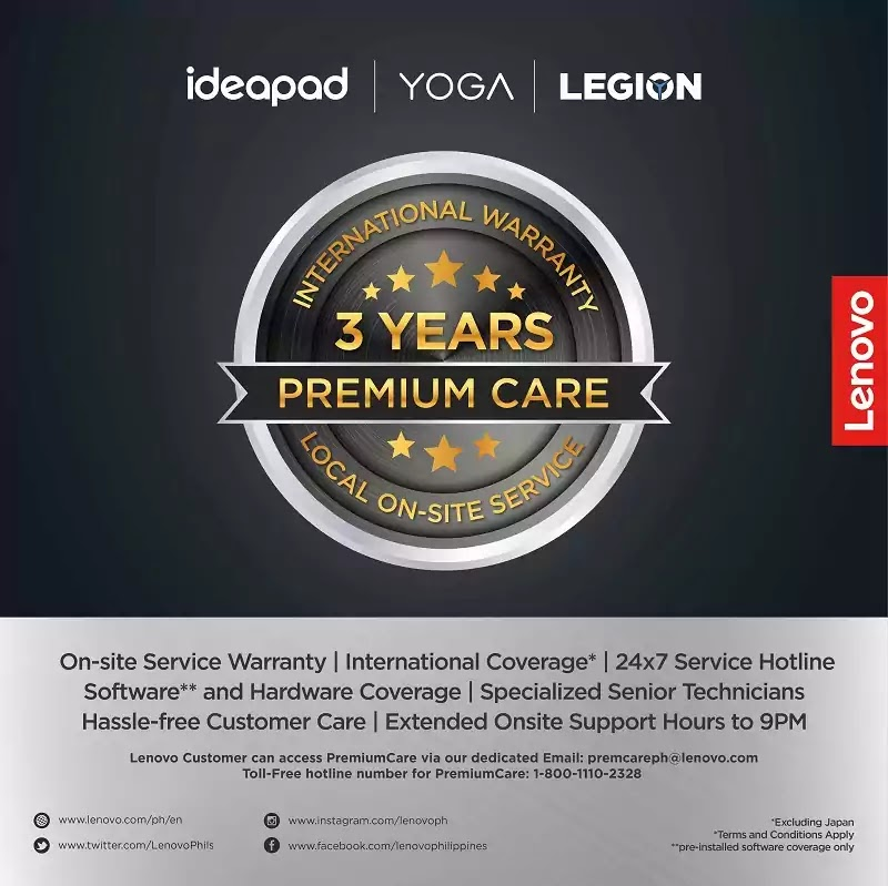 Lenovo 3-Year Premium Care Service