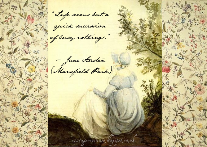 Mansfield Park Quotes: Poems, Quotes And Prose: Jane Austen Quote
