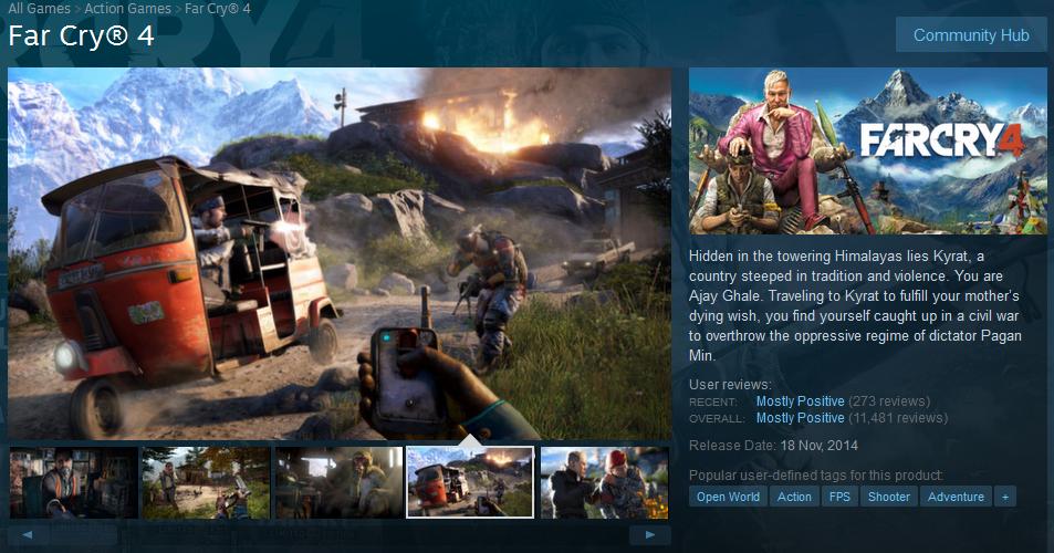 Free Gamez Haven!: Far Cry 4 v1 10 + All DLCs repack Mr DJ