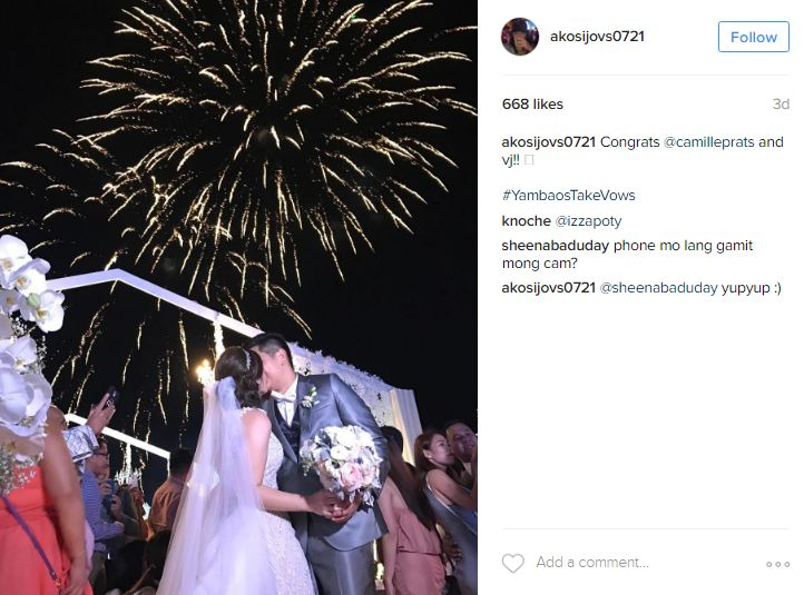 MUST WATCH: Ogie Alcasid Sings His Wife's Song For Camille Prats' Wedding!