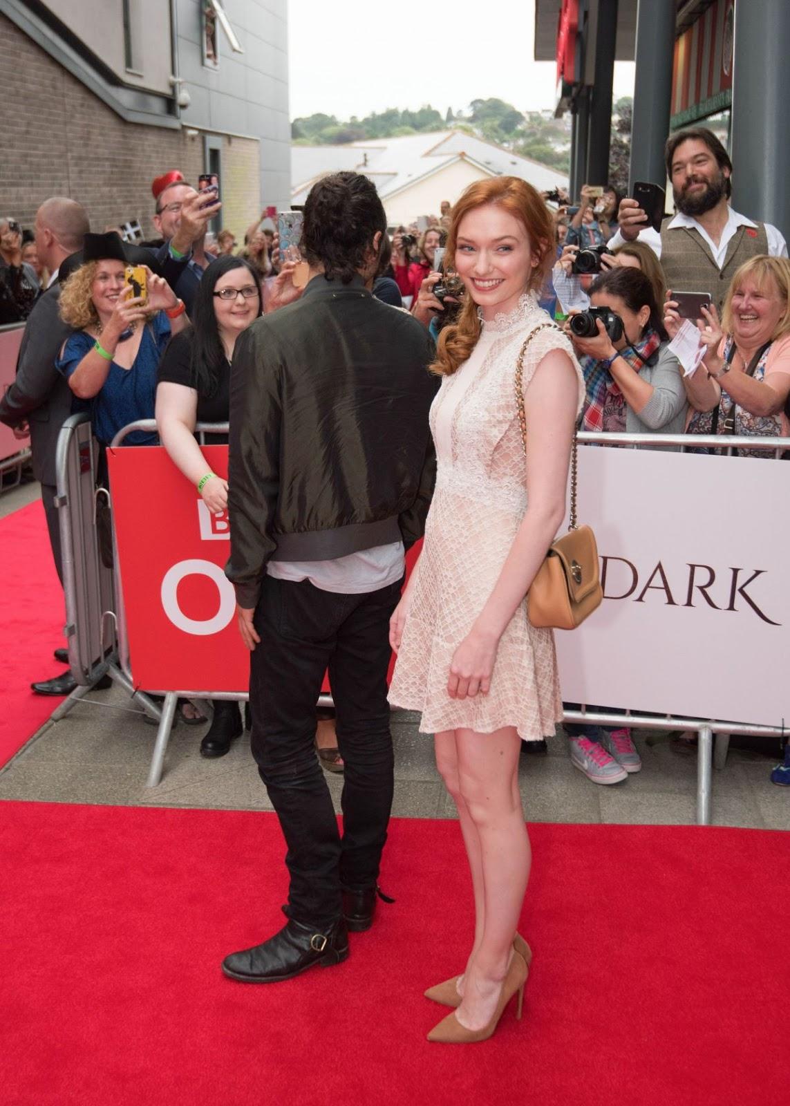 Full 4K Photos of 'Poldark' actress Eleanor Tomlinson At Poldark Press Screening In Cornwall