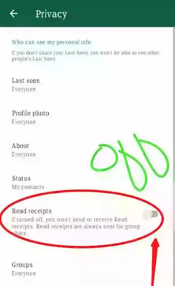 last seen off on whatsapp