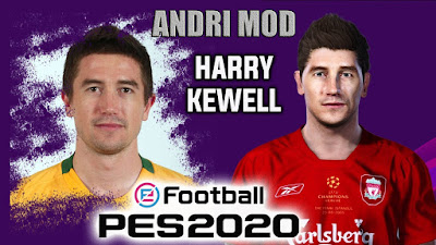 PES 2020 Faces Harry Kewell by Andri Mod