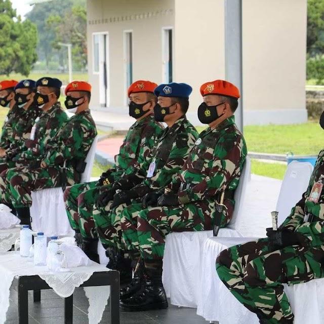 Dankodiklatau Buka Pendidikan Tamtama Prajurit Karier TNI AU Khusus Paskhas
