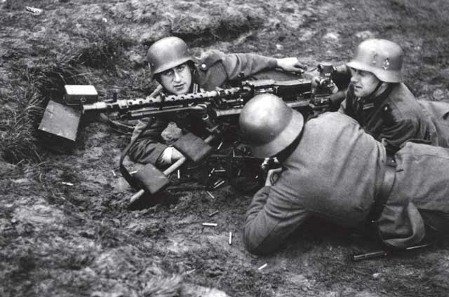 MG-34 with muzzle brake worldwartwo.filminspector.com