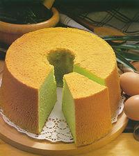 Resep Kue Chiffon Cake Pandan
