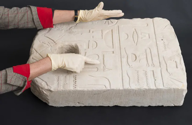 3,400-year-old Egyptian anchor uncovered in Israel