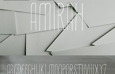 Amirah-Display-Typeface