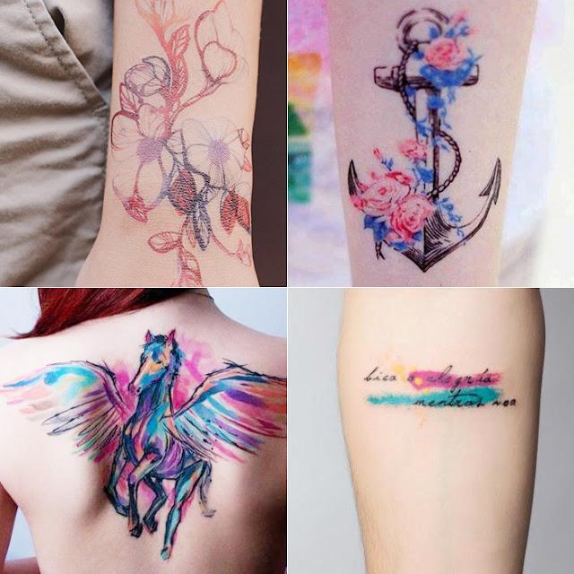 Este Pégasos ficou incrivelmente lindo!  Pra quem quiser uma tattoo grande, uma ótima inspiração.