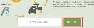 Recyclix Signup pe click kare