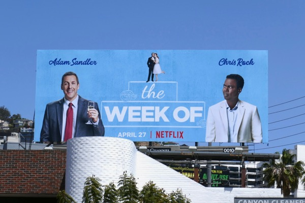 Week Of movie billboard