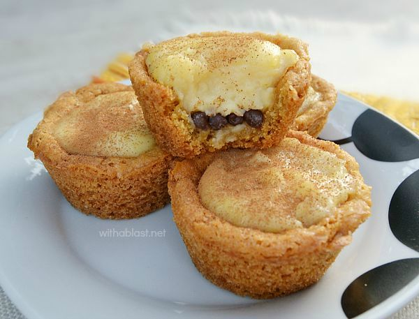 Milk Tart Cookie Cups