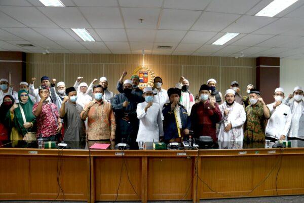 Permintaan HRS Bebas Makin Tak Terbendung, Aliansi Umat Muslim Datangi DPRD Bogor