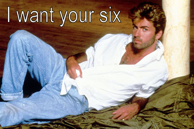 George Michael wants your six