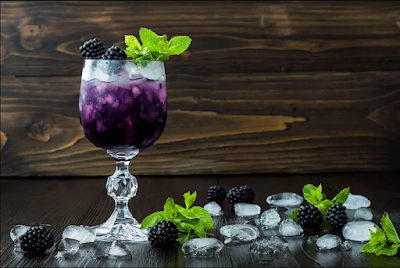 How to make a Blackberry Mojito #drink