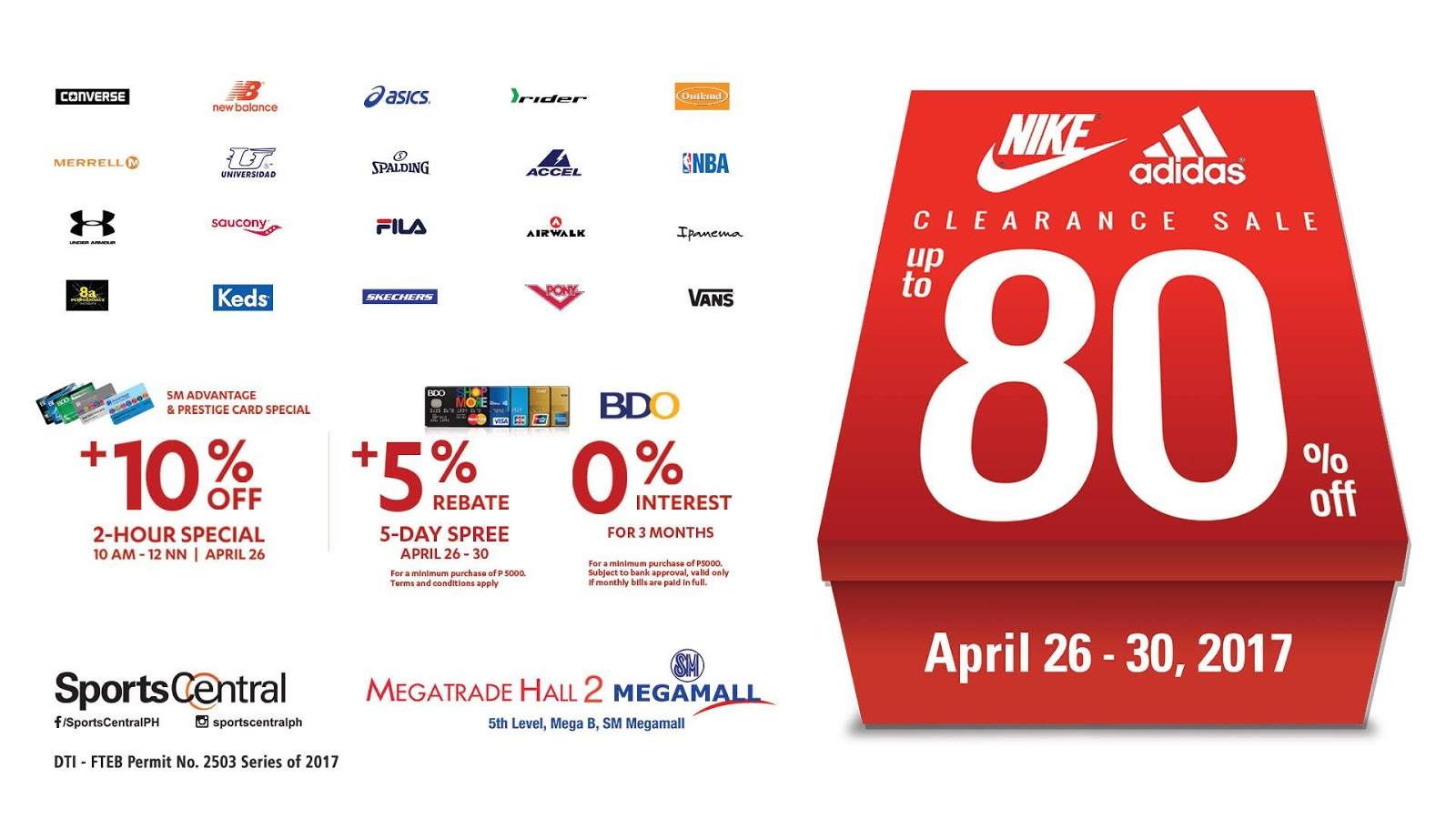 ddbbee9d0fb Manila Shopper  Nike   Adidas +more   Sports Central s Clearance ...