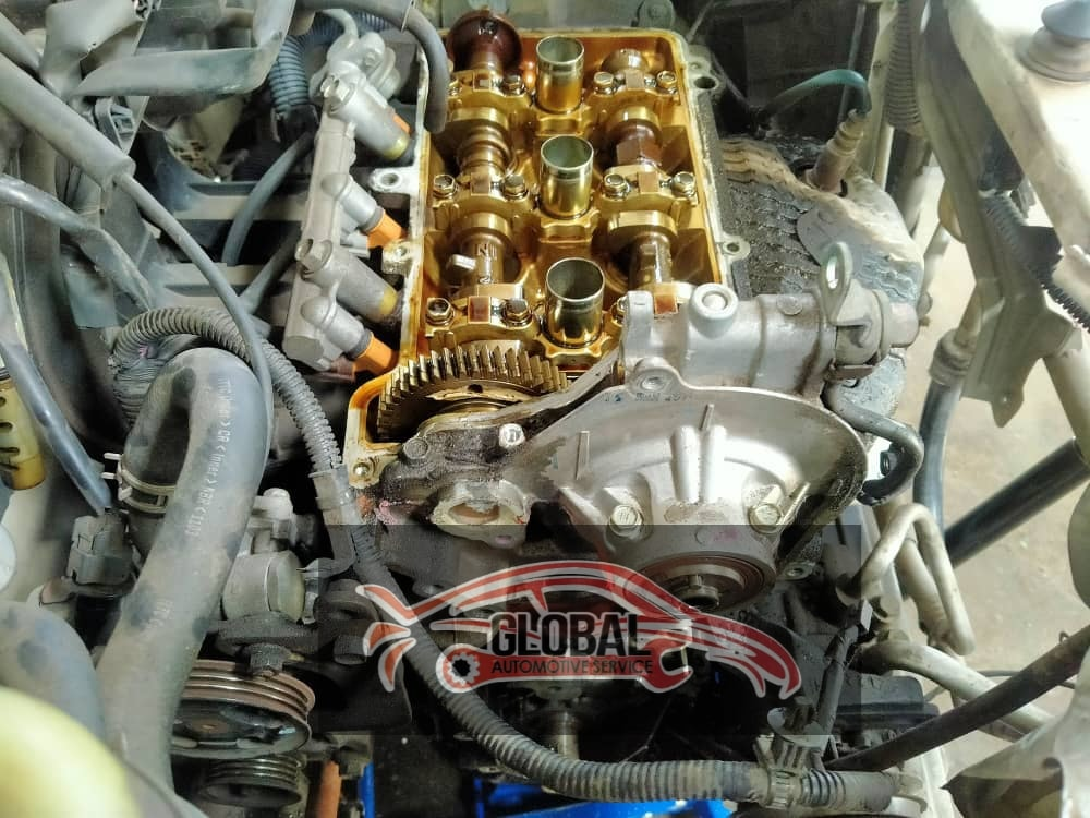 overhaul engine honda civicFB