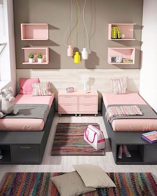 decoracion de cuartos tumblr rosa