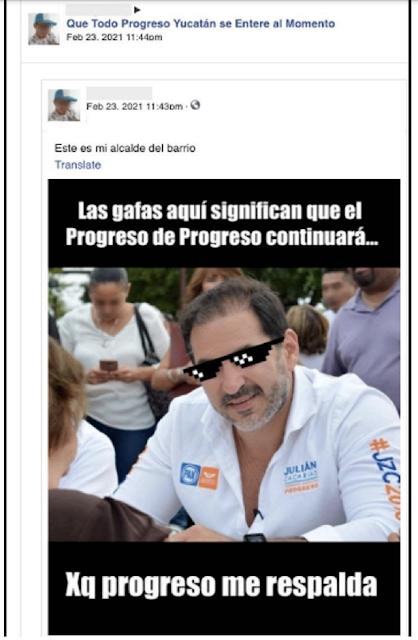 Revela Facebook que Julián Zacarías invirtió 10.5 millones de pesos para atacar a Lila Frías