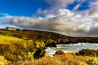 Capel Non St Davids Pembrokeshire Coastal Path Wales