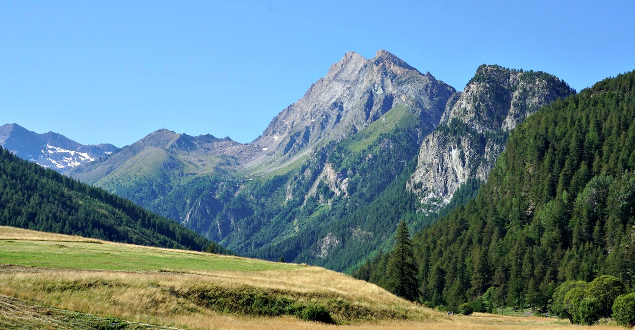 View from l'Echalp