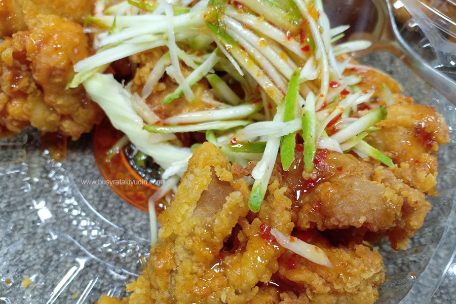 resepi chicken mango, chicken mango tersedap di alor setar, food delivery alor setar, chicken mango paling sedap di kedah,