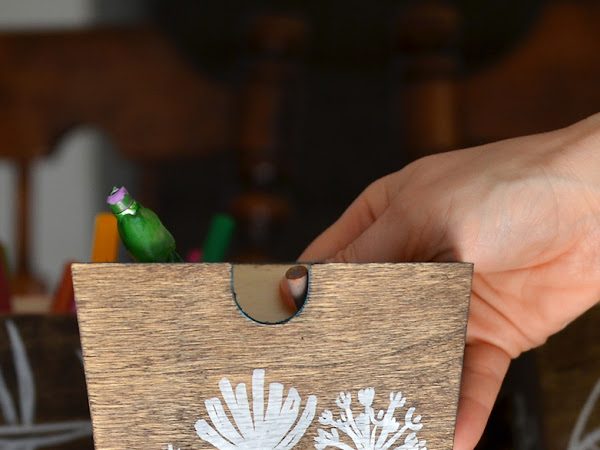 Nature Party: How to Paint Nature Scenes On Wood Using Paint Pens