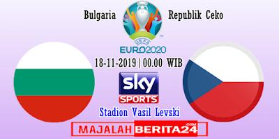 Prediksi Bulgaria vs Republik Ceko — 18 November 2019