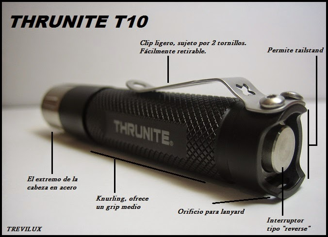 Review Thrunite T10 clicky luxlinternas.blogspot.com.es