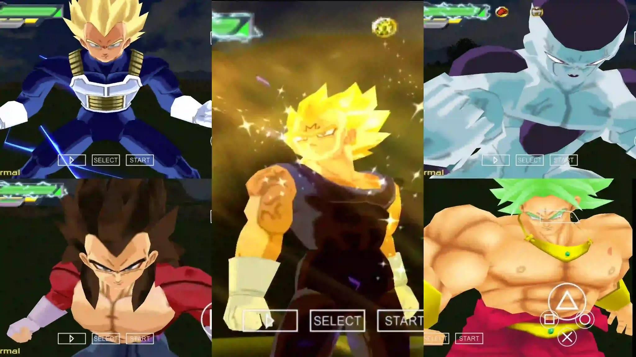 Dragon Ball Z Vegeta dbz ttt mod
