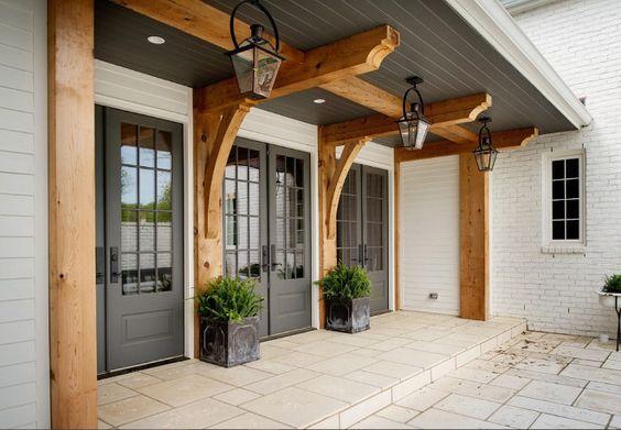 Jvw home modern texas farmhouse elements for Exterior architectural elements