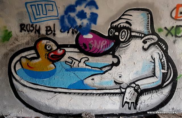 Warszawa Warsaw street art mural graffiti Bemowo forty