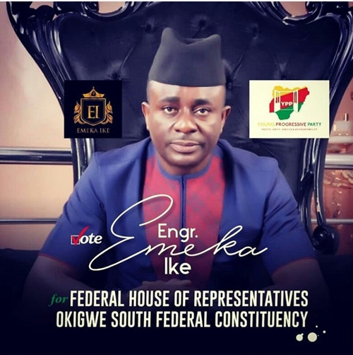 Nollywood Actor, Emeka Ike Kicks-off Campaign For House Of Reps, Shares Poster & Campaign