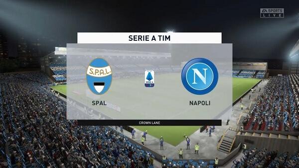مشاهدة مباراة نابولي وسبال بث مباشر  اليوم 27-10-2019 في الدوري الايطالي spal-vs-napoli