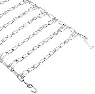 14.9 x 28 Tractor Tire Chains: 22-Inch Lawn Tractor Rear