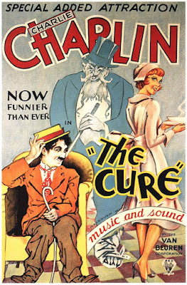Póster película Charlot en el balneario - The Cure