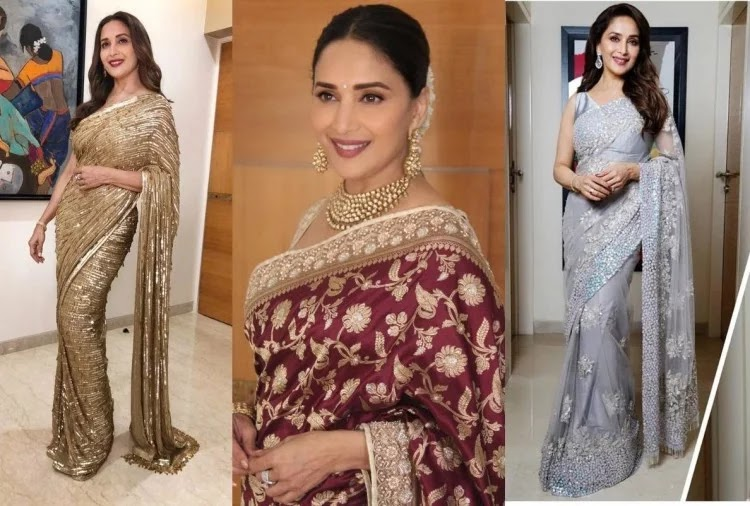 madhuri-dixit-5-saree-look-for-women