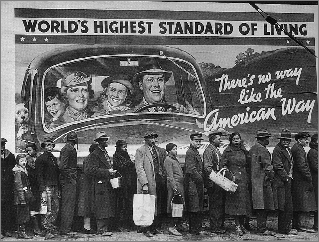 Photographing the Representative American: Margaret Bourke ...  Margaret Bourke White Depression