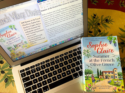 French Village Diaries book review Summer at the French Olive Grove by Sophie Claire