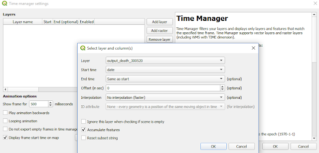 Time manager setting