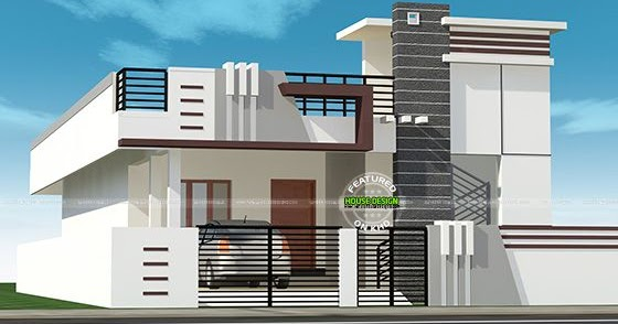 N Home Design Modern Front Elevation Ramesh : Sq m small house kerala home design and floor plans