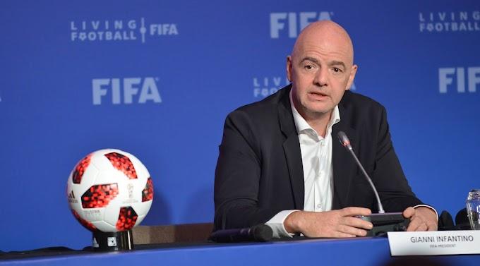 FIFA president, Gianni Infantino tests positive for Coronavirus