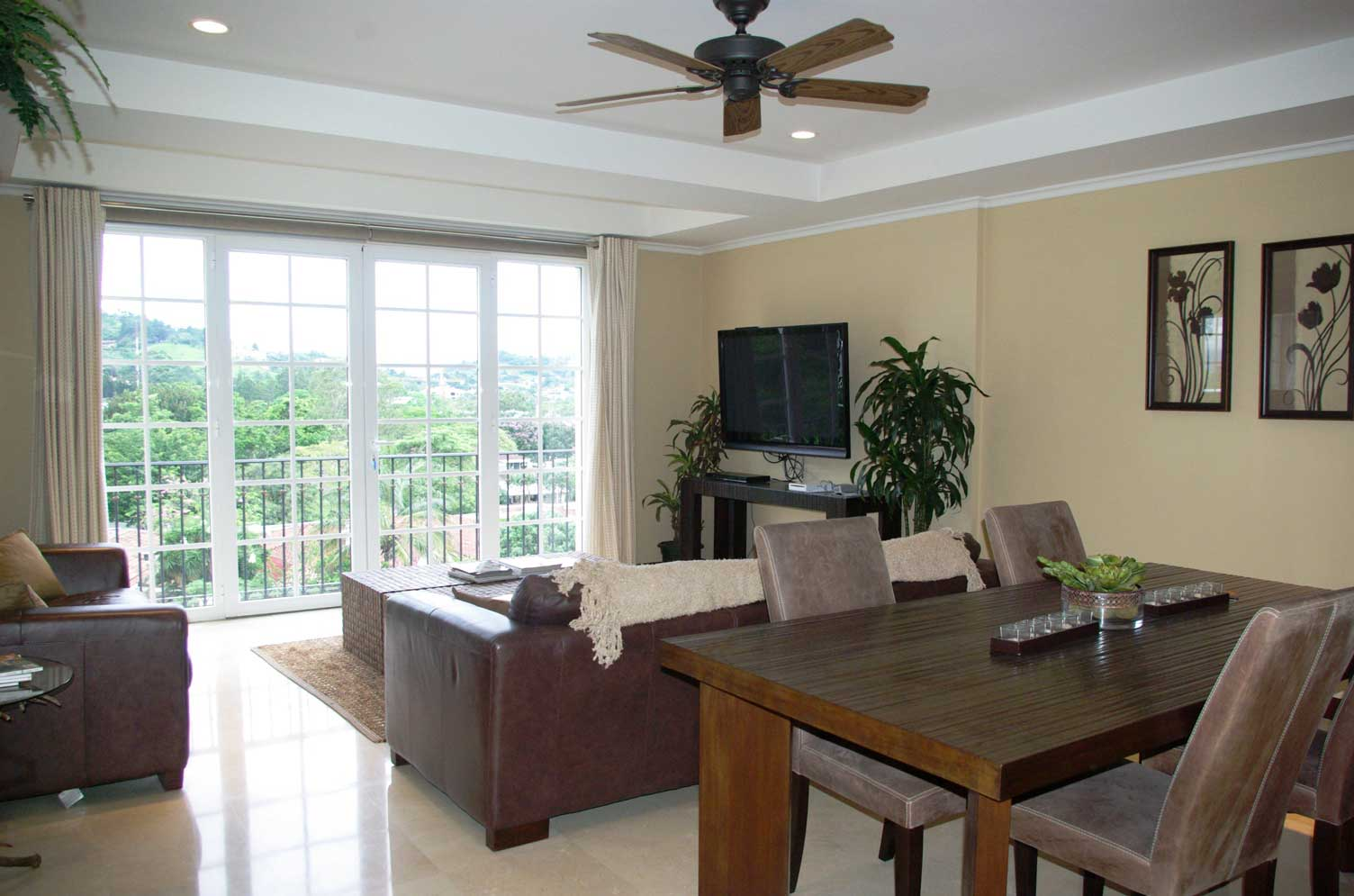 One Stop Costa Rica For Rent 2 400 5th Floor 3 Bedroom Fully Furnished Luxury Apartment For Rent Or Sale At Cortijo Los Laureles In Escazu