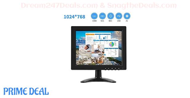 60% OFF  IPS Portable Monitor 4:3 Computer Display 9.7 Inch Screen 1024x768 HD