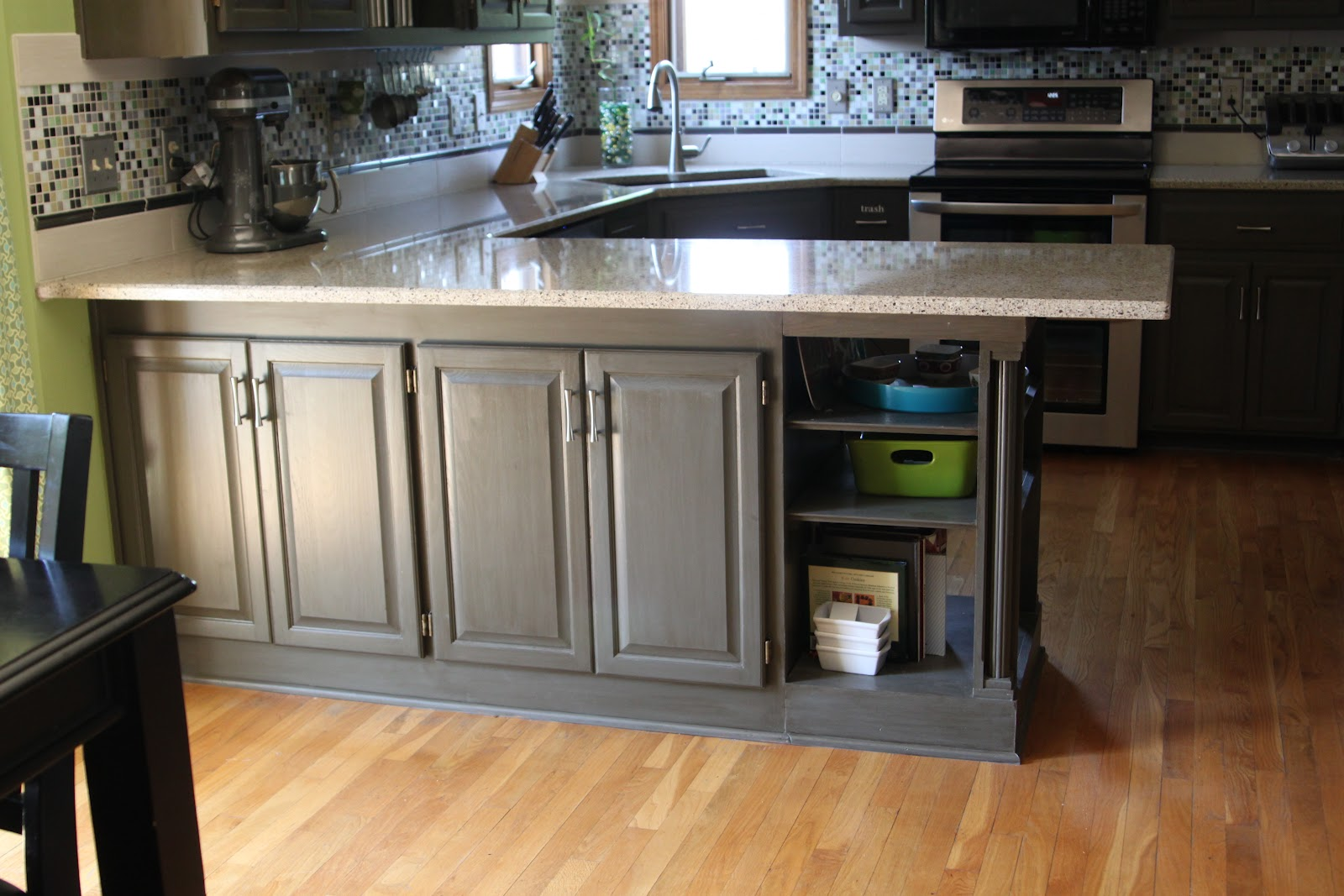 Diy Extend Kitchen Cabinets Diy Kitchen Remodel The Big Reveal Sugar Bee Crafts