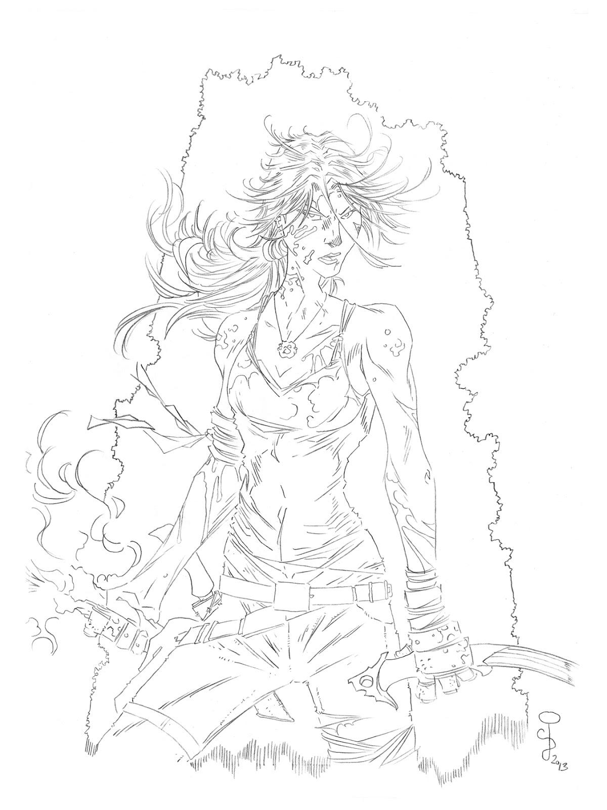 CjB Productions: Tomb Raider Art Process