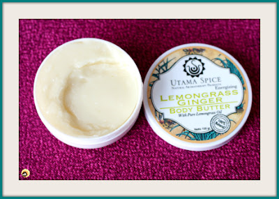 Utama Spice Lemongrass Ginger Body Butter Review and texture