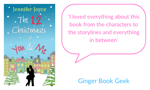 Ginger Book Geek - 'I loved everything about this book from the characters to the storylines and everything in between'