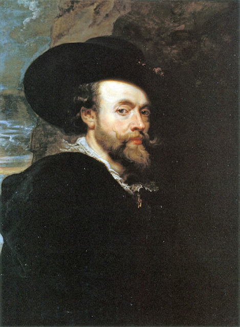 Peter Paul Rubens, Self Portrait, Portraits of Painters, Paul Rubens, Fine arts, Rubens
